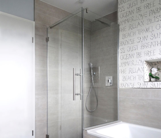 Eckdusche 100X120 by glasprofi24 | Shower screens