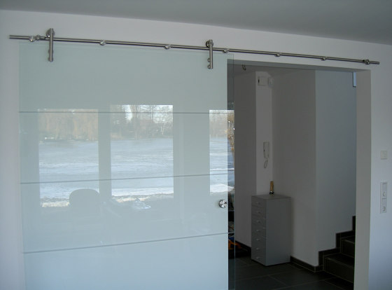 Suspens | Schiebetür de glasprofi24 | Portes intérieures