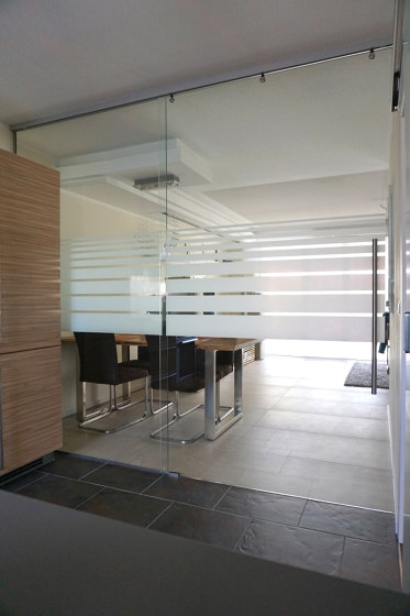 Mercato | Trennwand by glasprofi24 | Wall partition systems