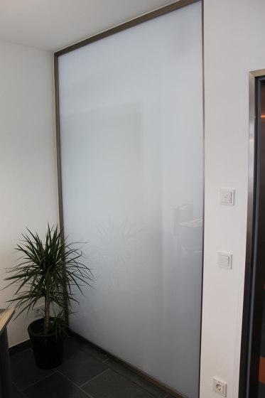 Slim | Trennwand ohne Tür by glasprofi24 | Wall partition systems