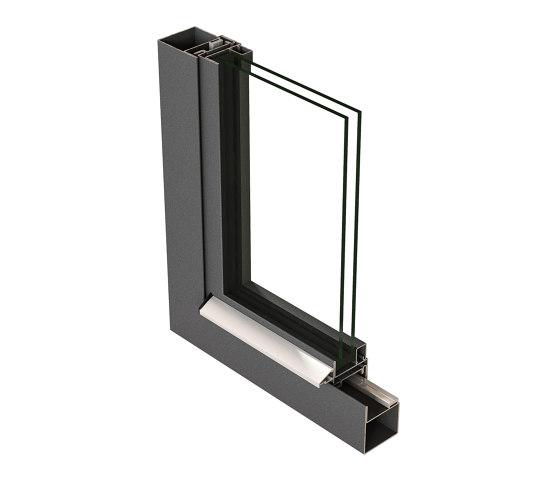 Jansen Art'System, steel, stainless steel and corten by Jansen | Window types