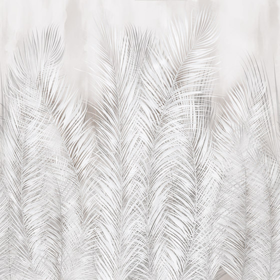 Bushy de Inkiostro Bianco   Revestimientos de paredes / papeles pintados