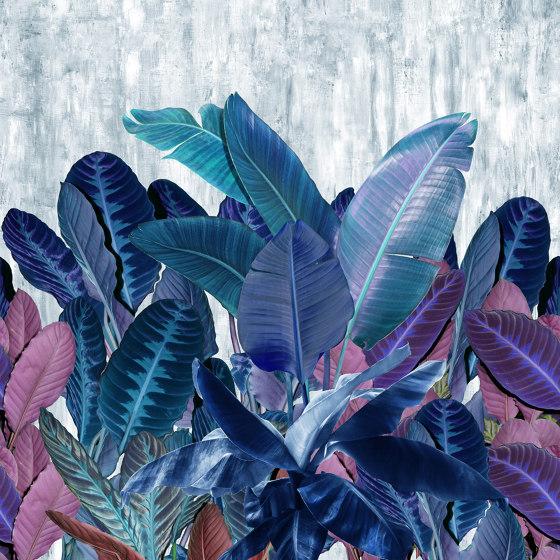 Herbage di Inkiostro Bianco | Carta parati / tappezzeria