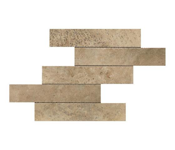 Aix Beige Brick Tumbled by Atlas Concorde   Ceramic tiles