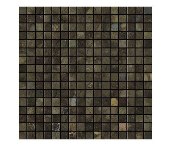 Marvel Brazil Green Mosaico Lappato by Atlas Concorde | Ceramic mosaics