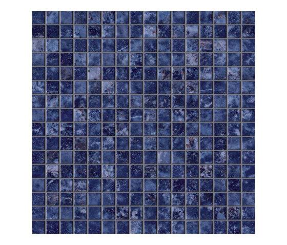 Marvel Ultramarine Mosaico Lappato by Atlas Concorde | Ceramic mosaics