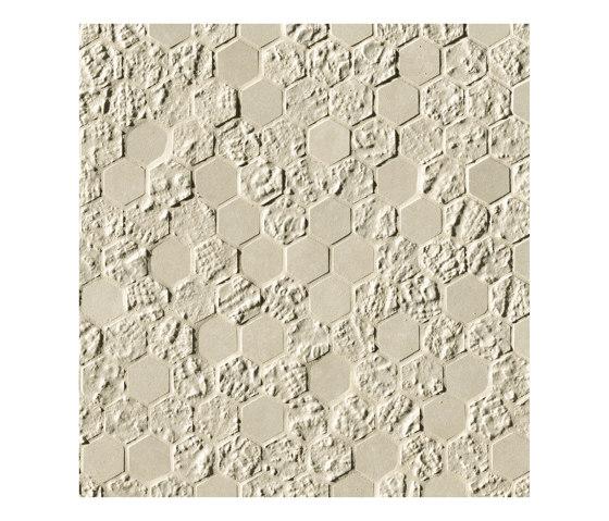 Bloom Beige Print Esagono Mosaico by Fap Ceramiche | Wall tiles