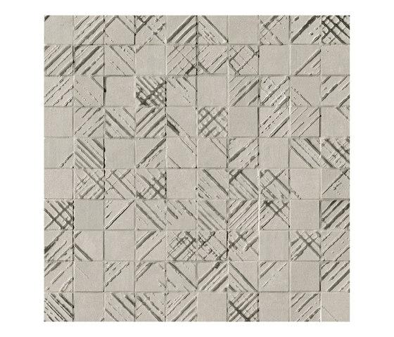 Bloom Metal Grey Silver Mosaico von Fap Ceramiche | Keramikböden