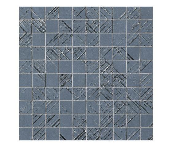Bloom Metal Blue Silver Mosaico by Fap Ceramiche | Ceramic flooring
