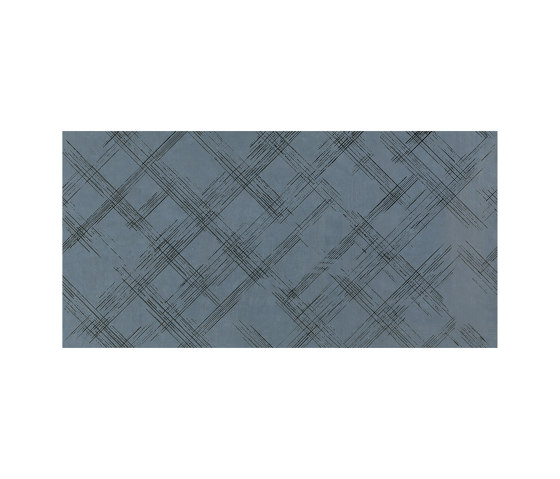 Bloom Metal Blue Silver Inserto by Fap Ceramiche | Wall tiles