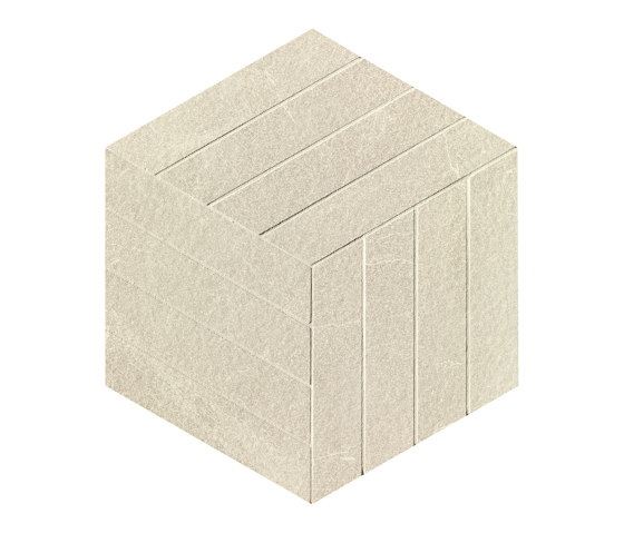 Blok Beige Cube Mosaico de Fap Ceramiche   Suelos de cerámica