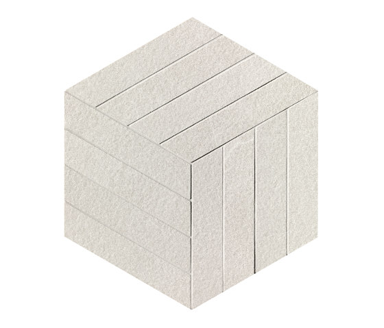 Blok White Cube Mosaico von Fap Ceramiche | Keramikböden