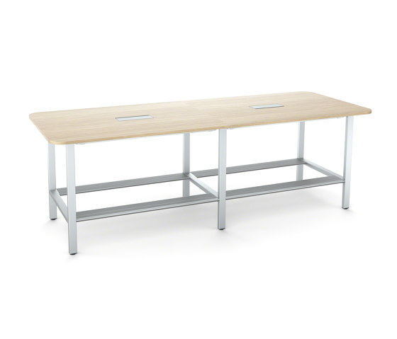 FrameFour WorkBench Double by Steelcase | Contract tables
