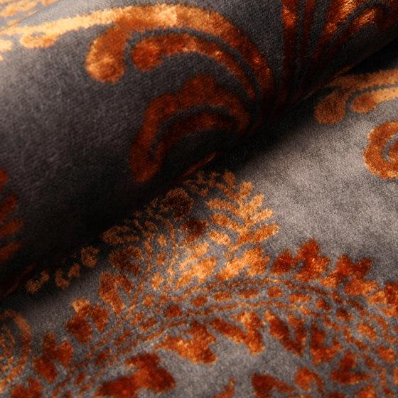 Judith | Colour Hematite 04 by DEKOMA | Drapery fabrics