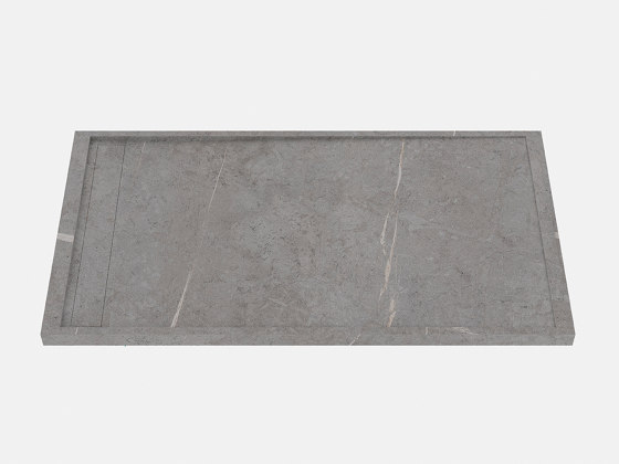 HYDRA Senda Gris Natural by INALCO   Shower trays