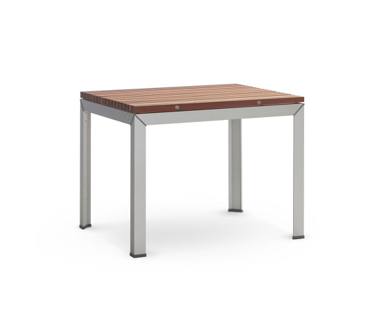 Extempore standard table square by extremis | Dining tables