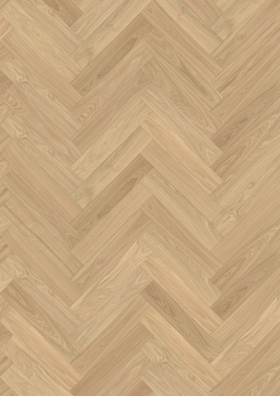 Herringbone | Oak AB Dim White by Kährs | Wood flooring