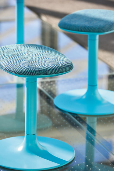 Sprout Low Stool by Teknion | Poufs