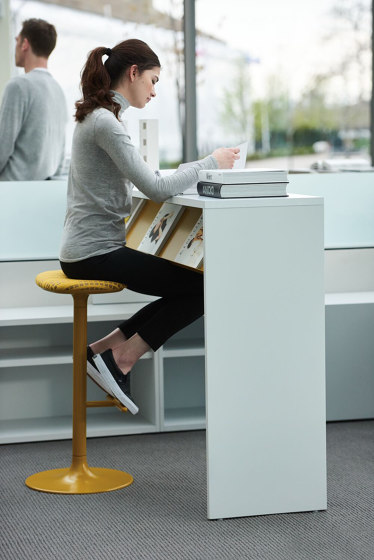Sprout High Stool by Teknion   Bar stools