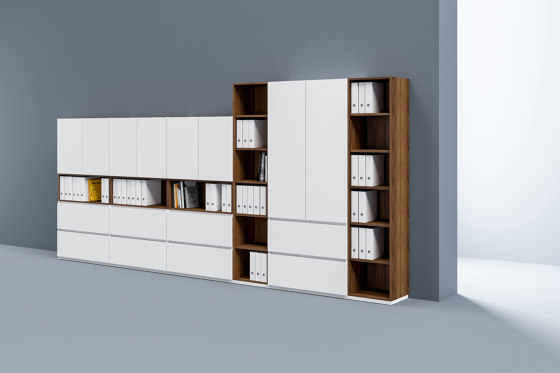 Intavis Storage system by Assmann Büromöbel | Cabinets