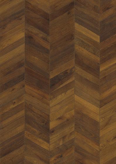 Chevron | Oak Dark Brown by Kährs | Wood flooring