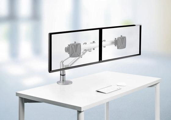 LiftTEC I Dual, Bras fixation bureau de Novus | Accessoires de table