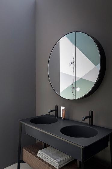 Catino mirror Round box by Ceramica Cielo   Mirror cabinets
