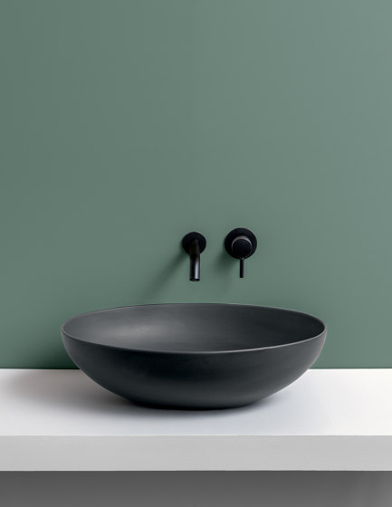 On top bowl Eco by Ceramica Cielo   Wash basins