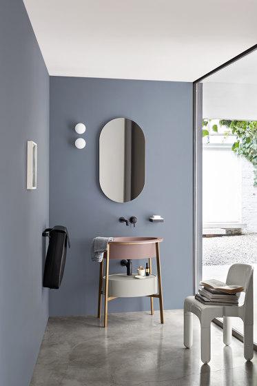 Catino mirror Oval mirror by Ceramica Cielo | Bath mirrors