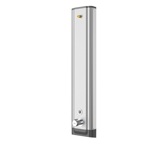 F5E-Therm stainless steel shower panel by Franke Water Systems | Shower controls