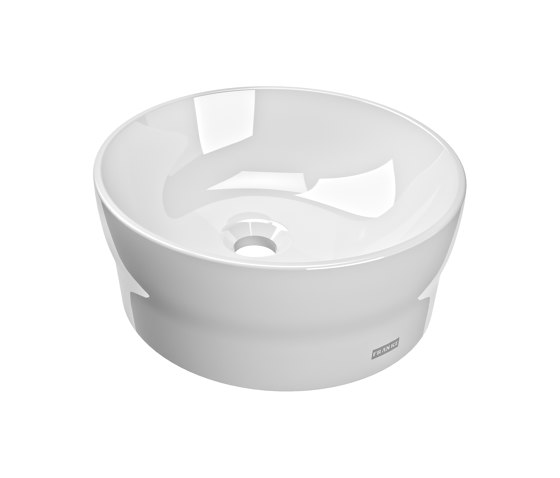 RONDAtop countertop basin by Franke Water Systems | Wash basins