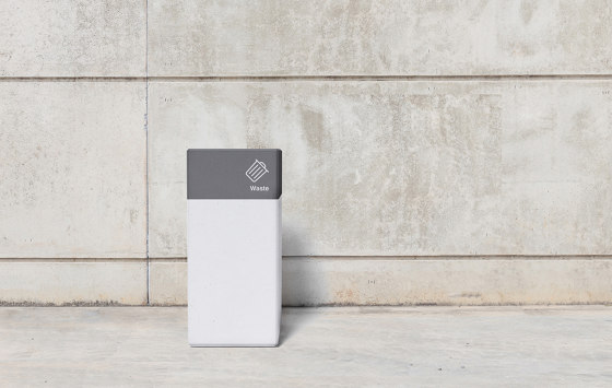 Basic Block Litterbin von Sit | Abfallbehälter / Papierkörbe