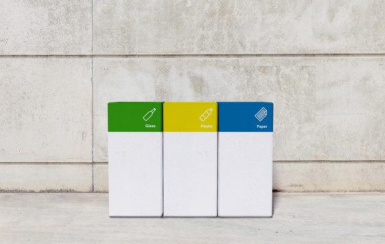 Basic Block Recycling von Sit | Abfallbehälter / Papierkörbe