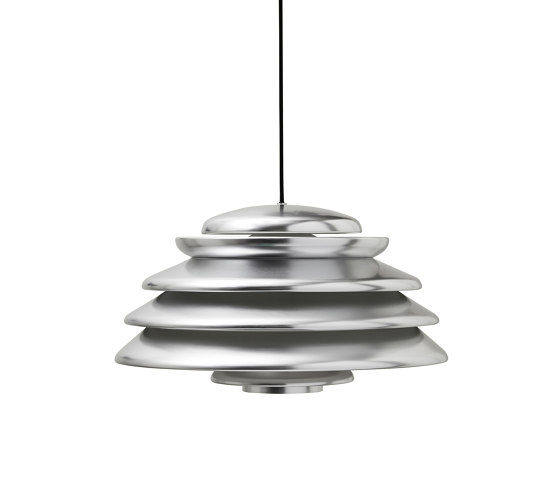 Hive Polished Aluminium   Pendant by Verpan   Suspended lights