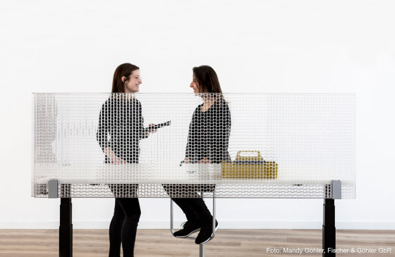 Kandela TA 27 by Wacotech | Sound absorbing table systems