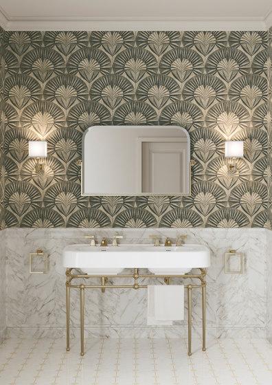 Wallpaper Gold Corolla de Devon&Devon | Revestimientos de paredes / papeles pintados