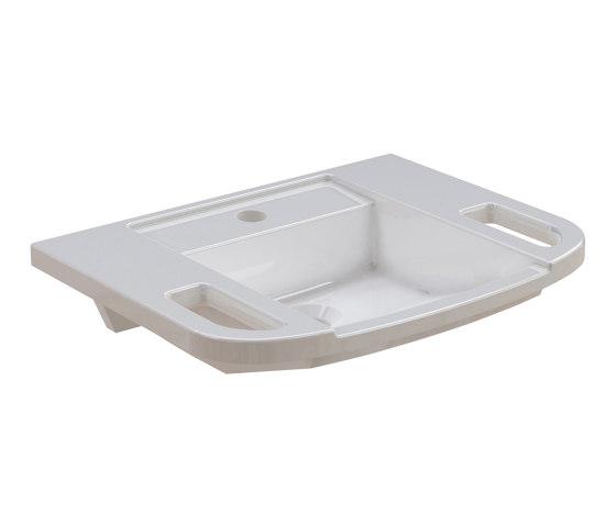 EXOS. Hand washbasin, barrier-free by Franke Water Systems   Wash basins