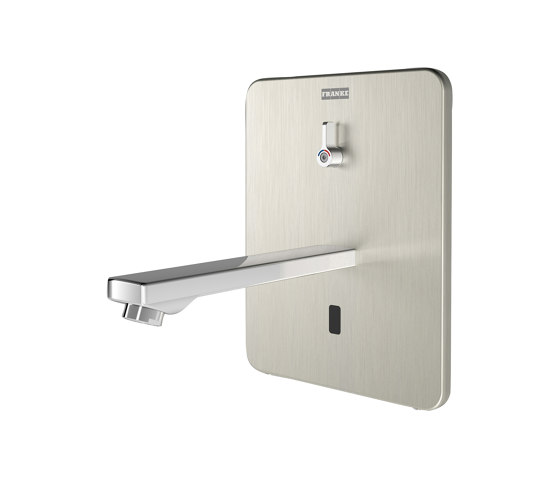F3E-Mix Electronic in-wall mixer for separate power supply by Franke Water Systems | Wash basin taps