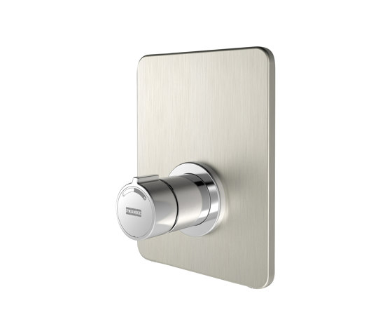 F3S-Mix self-closing in-wall mixer by Franke Water Systems | Shower controls