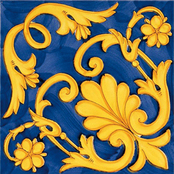 Antichi Decori Ieranto by Ceramica Francesco De Maio | Ceramic tiles