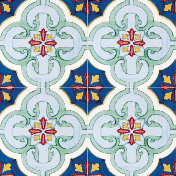 Antichi Decori Molina by Ceramica Francesco De Maio | Ceramic tiles