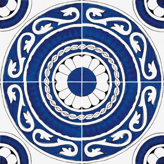 Classico Vietri Greca Blu by Ceramica Francesco De Maio | Ceramic tiles