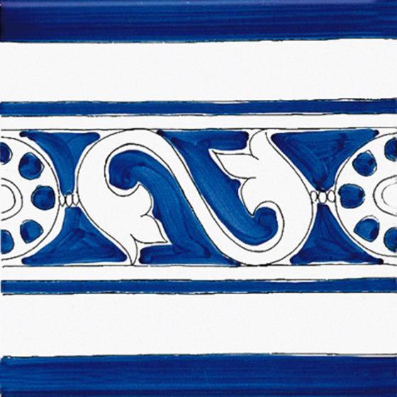 Classico Vietri Greca Blu von Ceramica Francesco De Maio | Keramik Fliesen