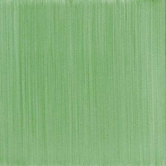 Pennellato a Mano Verde Verticale Verde Verticale 1 by Ceramica Francesco De Maio   Ceramic tiles