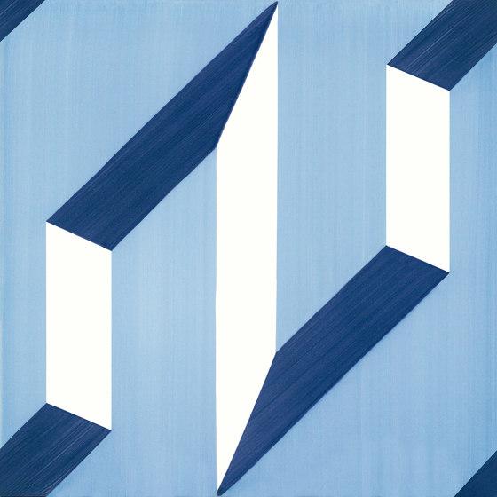 Blu Ponti Decoro Tipo 1 by Ceramica Francesco De Maio | Ceramic tiles