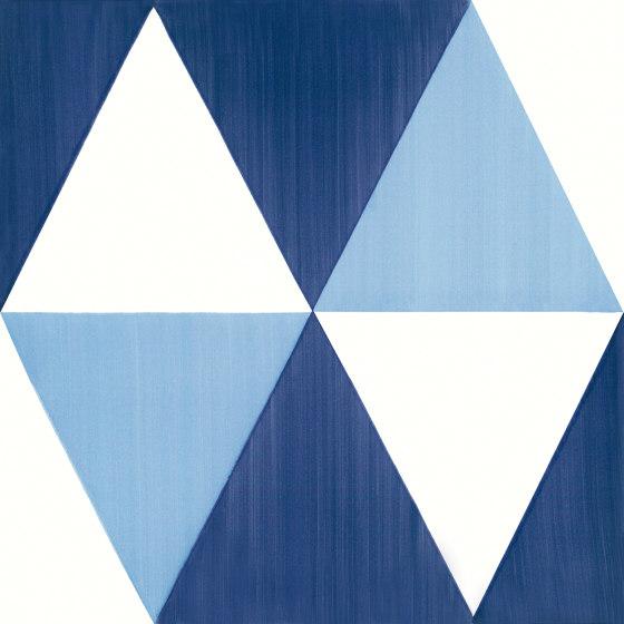 Blu Ponti Decoro Tipo 7 by Ceramica Francesco De Maio | Ceramic tiles