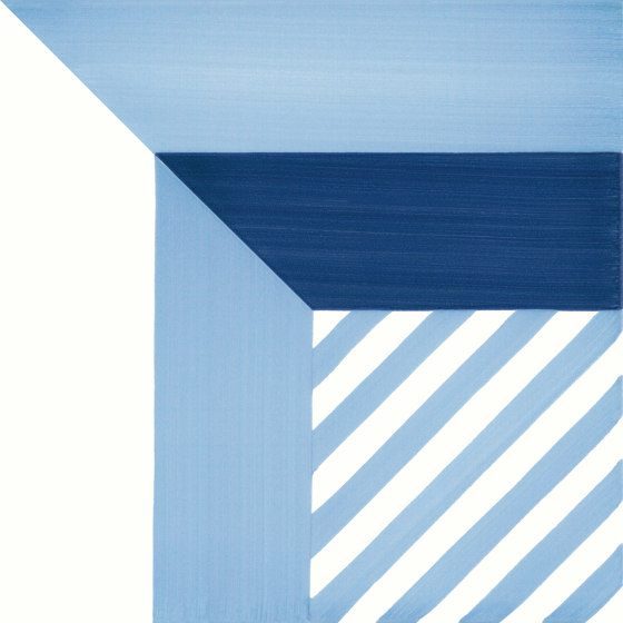 Blu Ponti Decoro Tipo 13 by Ceramica Francesco De Maio | Ceramic tiles