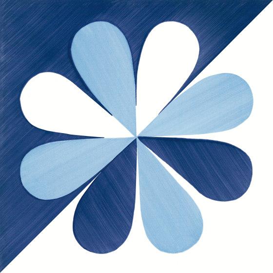 Blu Ponti Decoro Tipo 28 by Ceramica Francesco De Maio | Ceramic tiles