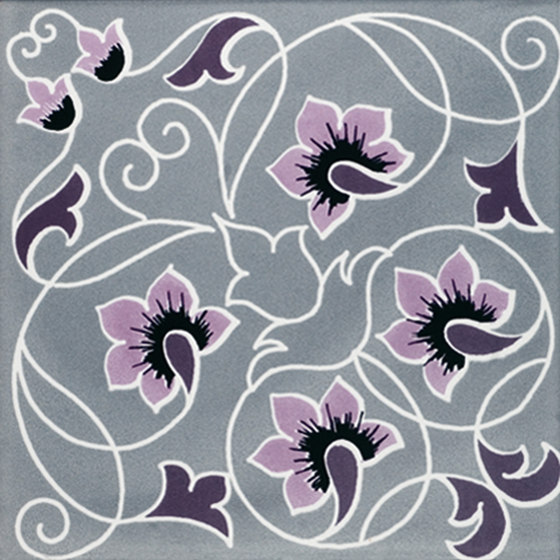 Fiori Scuri Piandarca by Ceramica Francesco De Maio | Ceramic tiles