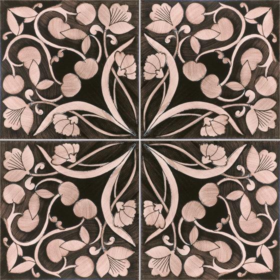Fiori Scuri Polvica Manganese by Ceramica Francesco De Maio   Ceramic tiles